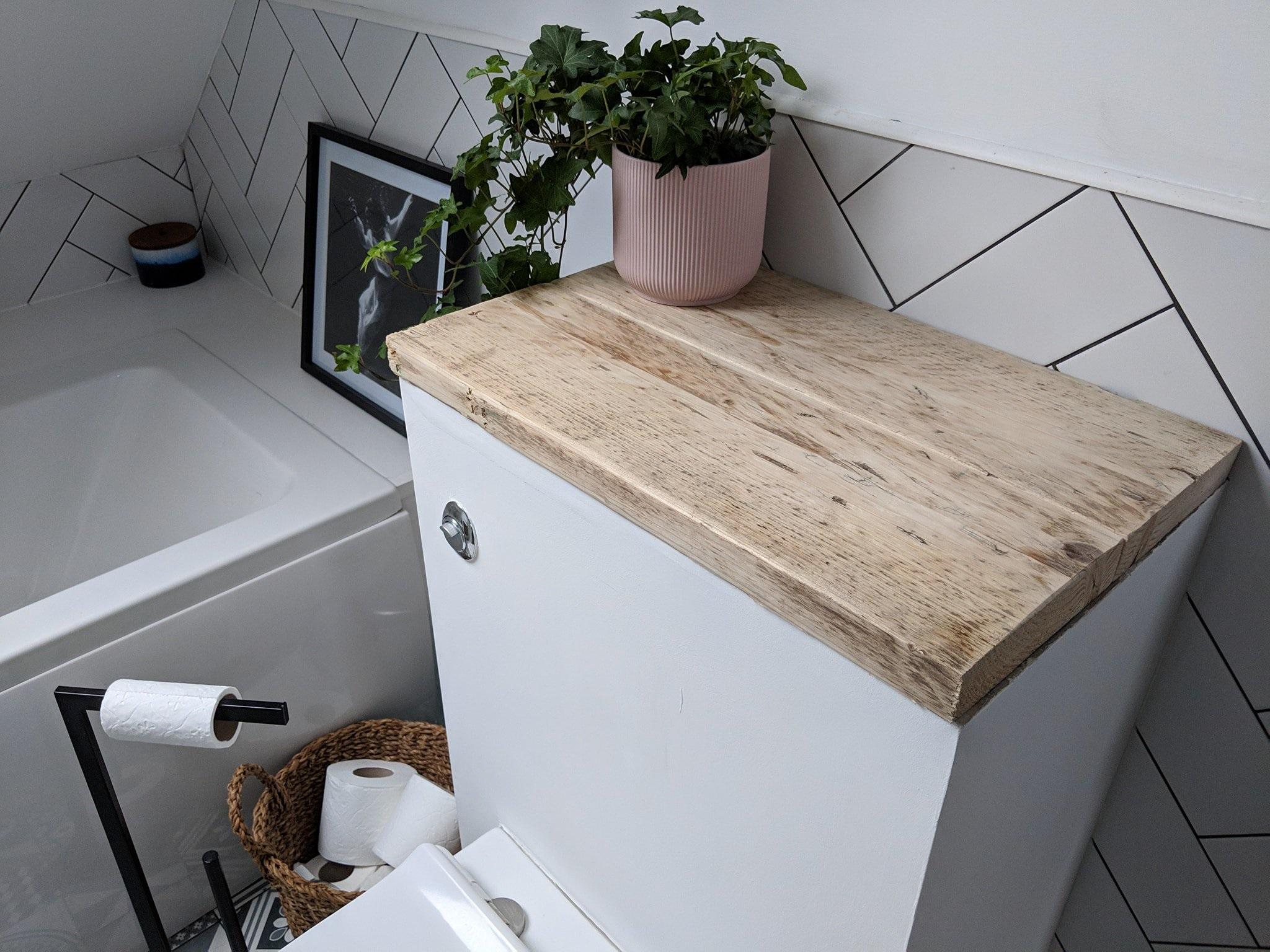 Custom toilet cistern