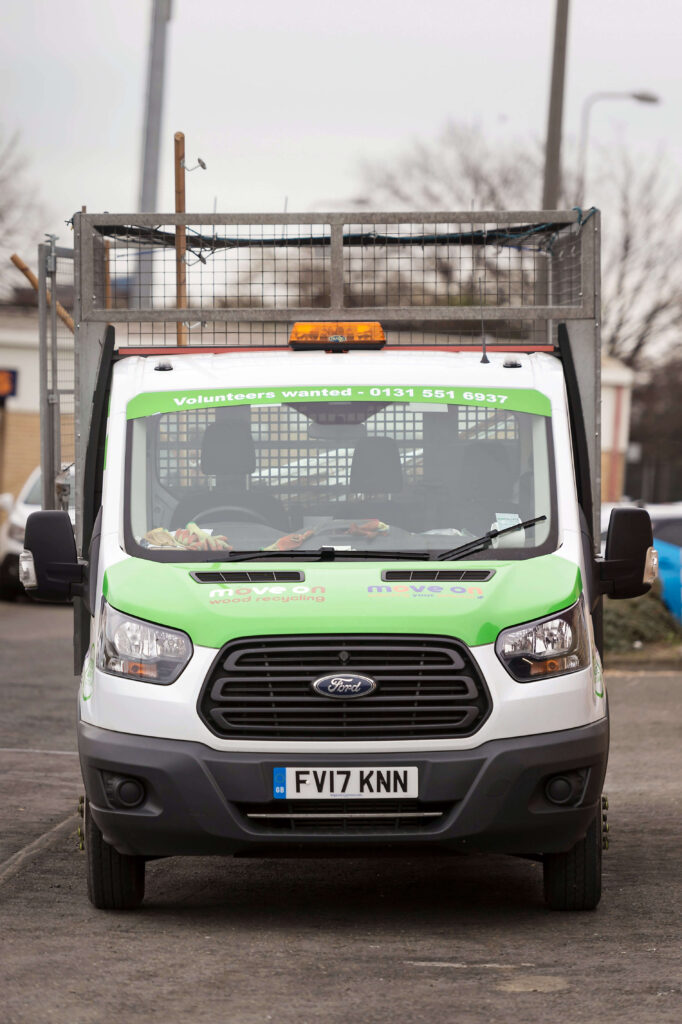 Volunteer van drivers needed in Edinburgh